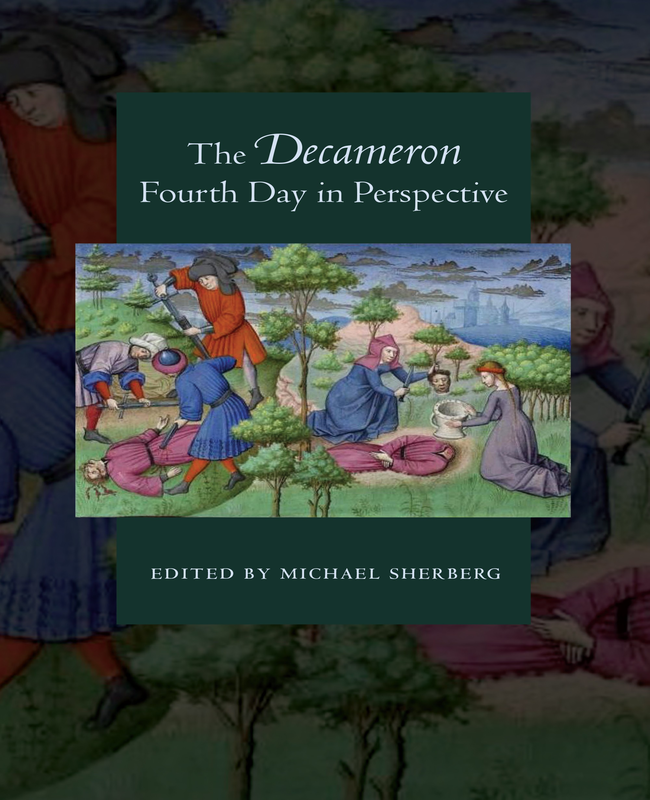 Jacket cover of The Decamerion fourth day in perspective