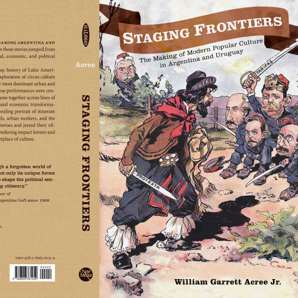Publication of Staging Frontiers by Professor William Acree.