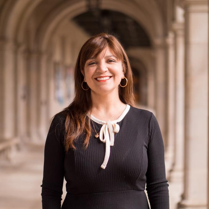 Headshot of Ángela María Plefka