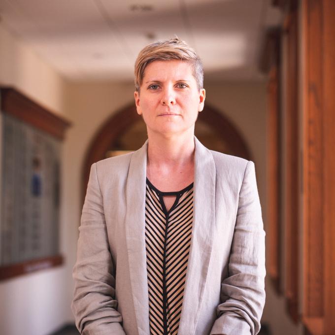 Headshot of Elena Dalla Torre